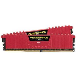 Corsair Vengeance 16GB (2x8GB) 3200Mhz DDR4 CL16 Kırmızı Ram