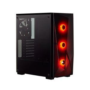 Corsair Spec Delta RGB Temperli Cam Mid Tower ATX Bilgisayar Kasası - Corsair VS650 80+ 650W Güç Kaynağı