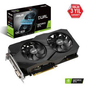 ASUS Dual Geforce GTX 1660 OC Edition EVO 6GB 192 Bit Ekran Kartı