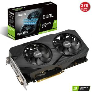 Asus DUAL Geforce GTX 1660 Super Advanced Edition Evo 6GB GDDR6 192 Bit Ekran Kartı