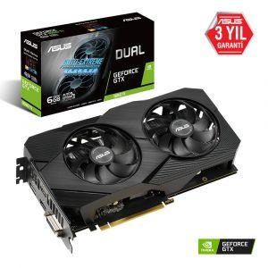 ASUS Dual Geforce GTX 1660 Ti EVO 6GB 192 Bit Ekran Kartı