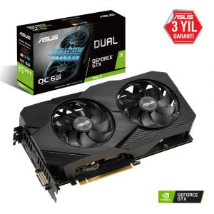 ASUS Dual Geforce GTX 1660 Ti OC Edition EVO 6GB 192 Bit Ekran Kartı