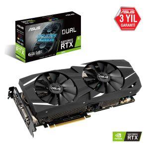ASUS Dual GeForce RTX 2060 6GB 192 Bit Ekran Kartı