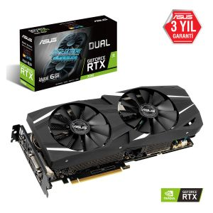 ASUS Dual GeForce RTX 2060 Advanced 6GB 192 Bit Ekran kartı