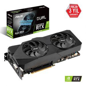 ASUS DUAL GeForce RTX 2060 SUPER EVO Advanced 8GB 256 Bit Ekran Kartı