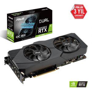 ASUS DUAL GeForce RTX 2070 SUPER OC EVO 8GB 256 Bit Ekran Kartı