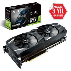ASUS DUAL GeForce RTX 2080 Advanced 8GB 256 Bit Ekran Kartı