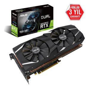 ASUS DUAL GeForce RTX 2080 Ti 11GB 352 Bit Ekran Kartı