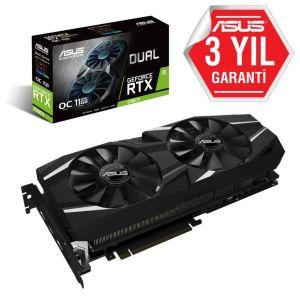 ASUS DUAL GeForce RTX 2080 Ti OC 11GB 352 Bit Ekran Kartı
