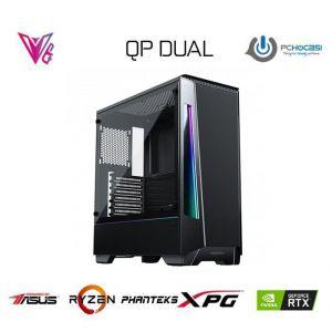 QP DUAL - GeForce RTX 2060 / Ryzen 5 2600 / 16 GB / 480GB SSD Oyun Bilgisayarı