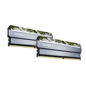 GSKILL SniperX Orman Kamuflaj 16GB (2X8GB) DDR4 3200Mhz CL16 Ram