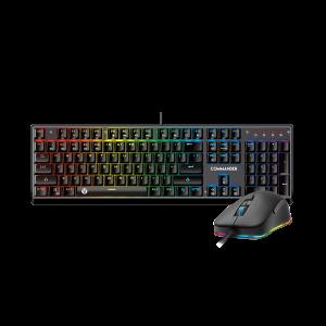 Fantech  MVP-862 RGB İngilizce Mekanik Klavye ve Mouse Seti