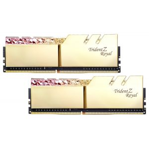 GSKILL TRIDENT Z ROYAL GOLD 16GB (2x8GB) DDR4 3200MHz CL16 RGB Ram