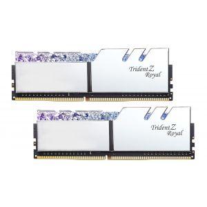GSKILL TRIDENT Z ROYAL SILVER 16GB (2x8GB) DDR4 3600MHz CL18 RGB Ram
