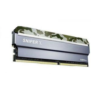 GSKILL SniperX Orman Kamuflaj 8GB DDR4 3200Mhz CL16 Ram