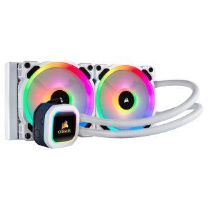 Corsair Hydro H100i RGB Platinum SE 240mm Beyaz Sıvı Soğutma Sistemi