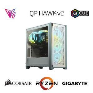 QP HAWK v2 - GeForce RTX 2080 Super / Ryzen 5 5600X / 16GB / 512 GB Oyun Bilgisayarı