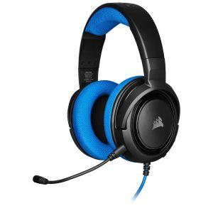 Corsair HS35 Mavi Stereo Oyuncu Kulaklığı OUTLET