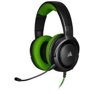 Corsair HS35 Yeşil Stereo Oyuncu Kulaklığı OUTLET