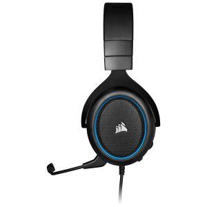 Corsair HS50 PRO Stereo Oyuncu Kulaklığı-Mavi