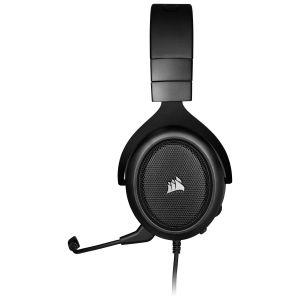 Corsair HS50 PRO Stereo Oyuncu Kulaklığı-Siyah