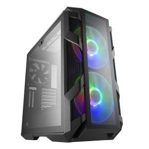 Cooler Master Master Case H500M Temperli Cam RGB Fanlı Mid Tower ATX Bilgisayar Kasası
