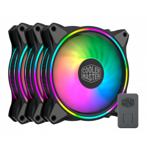 Cooler Master MasterFan MF120 Halo ARGB 120mm Kasa Fanı 3'lü Paket