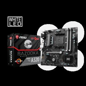 MSI A320M BAZOOKA 3200 MHz DDR4 AM4 mATX Anakart