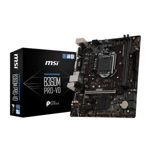 MSI B360M PRO-VD 1151P v2 DDR4 2666MHz mATX Anakart