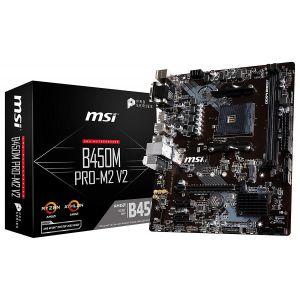 MSI B450M PRO-M2 V2 AM4 mATX Anakart