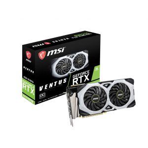 MSI GeForce RTX 2070 Super VENTUS OC 8GB 256 Bit Ekran Kartı