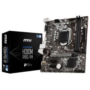 MSI H310M PRO-VH 1151P v2 DDR4 2666MHz mATX Anakart