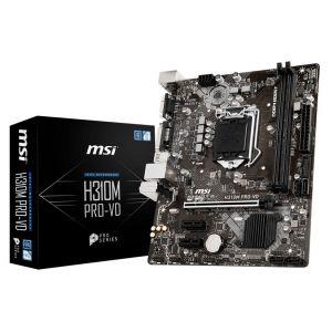 MSI H310M PRO-VD 1151P v2 DDR4 2666MHz mATX Anakart