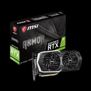 MSI Geforce RTX 2070 ARMOR 8G 256 Bit Ekran Kartı