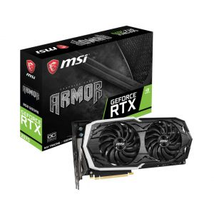 MSI Geforce RTX 2070 ARMOR 8G OC 256 Bit Ekran Kartı