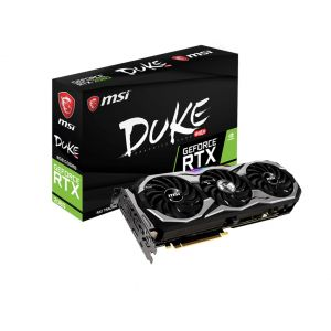 MSI GeForce RTX 2080 DUKE 8 GB OC 256 Bit GDDR6 Ekran Kartı