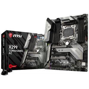 MSI X299 TOMAHAWK AC DDR4 4266 MHz OC 2066P ATX Anakart