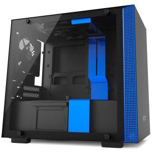 NZXT H200i mini-ITX Akıllı Bilgisayar Kasası Mavi Siyah