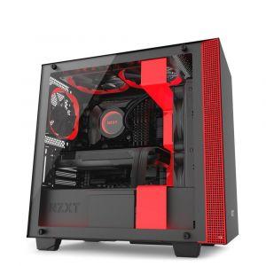 NZXT H400 Mid Tower mATX Kırmızı - Siyah Bilgisayar Kasası