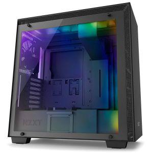 NZXT H700i Temperli Cam RGB Mid Tower ATX Akıllı Bilgisayar Kasası