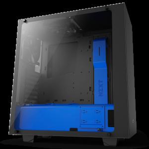NZXT S340 Elite Mavi Siyah Bilgisayar Kasası