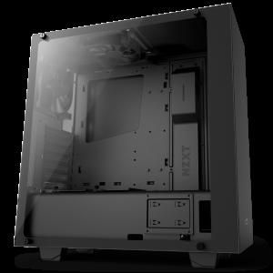 NZXT S340 Elite Temperli Cam Mid Tower ATX Bilgisayar Kasası
