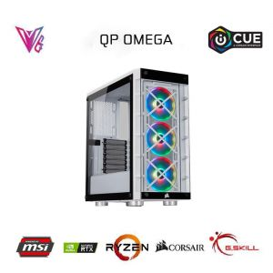 QP OMEGA v2 - Geforce RTX 3070 Ti / R5 5600X / 16GB / 480GB M2 SSD Oyun Bilgisayarı