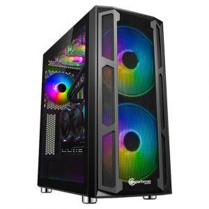 Performax Tyrant Temperli Cam ARGB Mid Tower ATX Siyah Bilgisayar Kasası