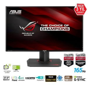 Asus ROG Swift PG279Q 27'' 4ms 165Hz G-Sync 2K WQHD Monitör