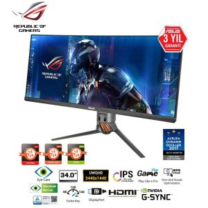 Asus ROG SWIFT PG348Q 34'' 5ms 100Hz G-Sync Kavisli Monitör
