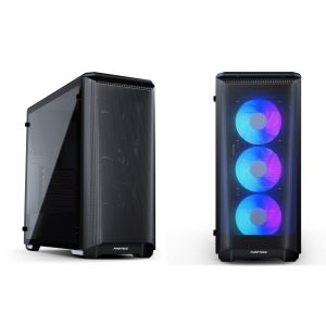 Phanteks Eclipse P400A  RGB Temperli Cam Mid Tower ATX Siyah Bilgisayar Kasası