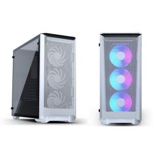 Phanteks Eclipse P400A  RGB Temperli Cam Mid Tower ATX Beyaz Bilgisayar Kasası