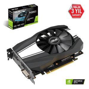 ASUS Phoenix Geforce GTX 1660 Ti OC 6GB 192 Bit Ekran Kartı