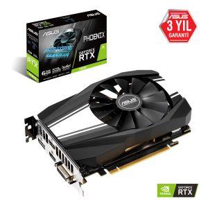 Asus Phoenix GeForce RTX 2060 6GB 192 Bit Ekran Kartı